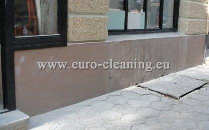 Пясъкоструене на боядисана мозайка - Пясъкоструене на боядисана мозайка