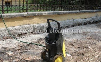 Почистване на ограда на съюза на архитектите - Пясъкоструене - ограда след почистване
