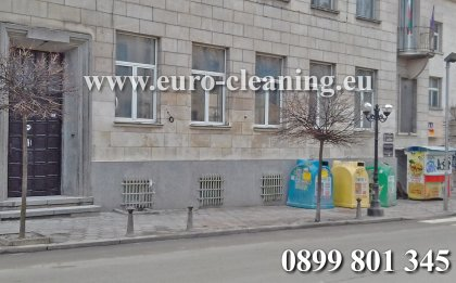 Премахване на графити - Почистване на графити от сгради