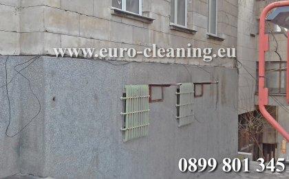 Премахване на графити - Премахване на графити - след